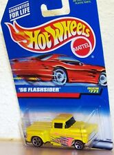 1997 Hot Wheels Chevrolet Emblem on Back '56 Flashsider Chevrolet Pick Up Truck
