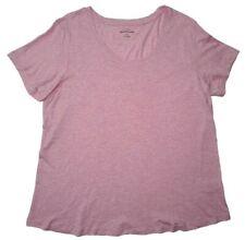 Eddie Bauer Women T-shirt S M L XL XXL XXXL Blush Blue Plum Grey Scoop Neck