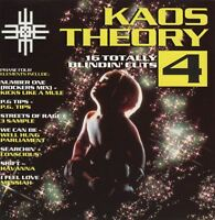 KAOS THEORY 4 various (CD compilation) TCD 2605 breakbeat house hardcore 1992