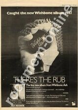 Wishbone Ash There's The Rub MM5 LP Advert 1975