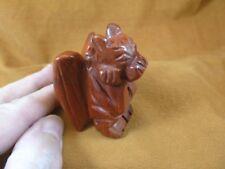 Y-Gar-709) little red statue Gargoyle gemstone Gargoyles Gothic stone carving