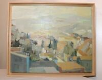 Laura Artinano Puya village city landscape abstract expressionism oil painting