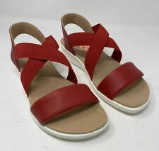 Malu Cleo Red Sandals Super Comfort Strappy Made in Brazil