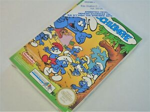 NES Nintendo Smurfs NEW SEALED German Edition Video Game System