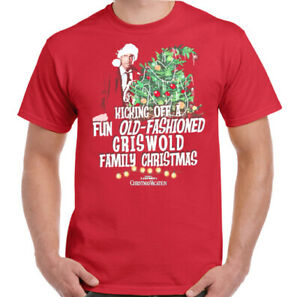 GRISWOLD CHRISTMAS T-SHIRT National Lampoons Vacation Family XMAS Tee Top Kids
