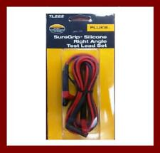 Fluke TL222 SureGrip USA MAde Right Angle Silicone Test Lead Kit AU GST Tax Inv