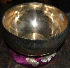 Meditation Music Therapy Tibetan Singing Bowl Hand made  AMAZING SOUND NEPAL.