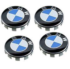 4 BMW WHEEL CENTRE CAPS 68MM 10 PIN CLIP FITS 1,3,5,7 Series E90 E34 Z4 8 prod