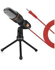 DISDIM PC Microphone, 3.5mm Jack Condenser Recording Microphone