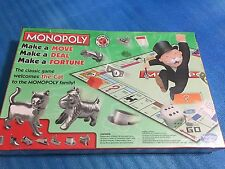 NEW SEALED Monopoly Board Game Classic Edition by Hasbro W/The Cat