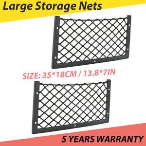 2x Large Storage Net Pocket Camper Van Caravan Organiser Holder for VW T5 T6