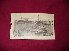 ORIGINAL ca. 20er 30er Jahre AK Ansichtskarte MARSEILLE  Hafen Port Schiffe 1925