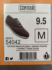 Footjoy Contour Casual Spikeless Golf Shoes 54042 9.5M