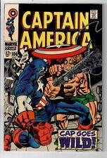 "CAPTAIN AMERICA #106 - Grade 9.2 - ""Cap Goes Wild!"" Jack Kirby cover!"