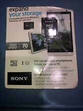 Sony Micro Sdhc Memory Card 32gb With Micro As Adapter