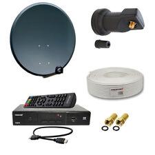 PremiumX Digital SAT Anlage Set mit HDTV DVB-S2 Satellite Receiver
