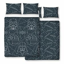 STAR WARS STELLAR DOUBLE DUVET COVER SET REVERSIBLE BEDDING STORMTROOPER