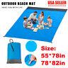 Waterproof Sand Free Beach Mat Camping Picnic Blanket Rug Mattress Pad 78x82in