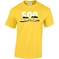 Fiat500 Classic New Mens T-Shirt
