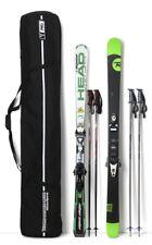 T-PRO Doppel Skitasche Skibag Skisack Skicover Tasche Carving Ski Schutz 195 cm
