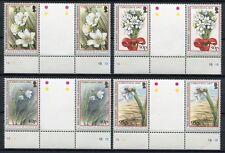 FALKLAND 2003 Weihnachten Blumen Christmas Flowers Stegpaare 894-897 **