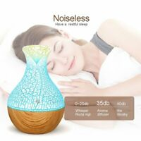 Aromatherapy Essential Oil Diffuser 130ml Aroma Ultrasonic Cool Mist Humidifier