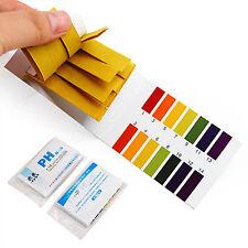 160 Tornasol Papel Tiras De Prueba Alcalina Ácido pH Indicador Kit