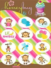 Honeybug MAGNETIC reborn doll PACIFIER baby Lil MONKEY SPRINKLES sheet 12 decals