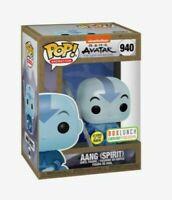 Funko Pop Avatar The Last Airbender Spirit Aang Box Lunch Earth Day Glow GITD