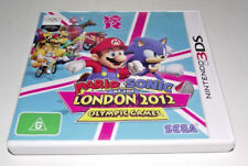 Mario & Sonic London 2012 Olympic Games Nintendo 3DS 2DS Game *Complete*