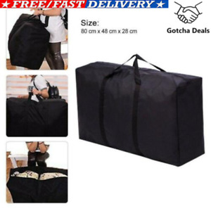 Extra Large Storage Bag Waterproof for Outdoor Camping Tent Cushion Black New