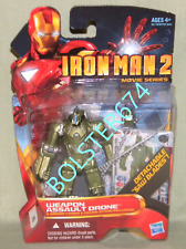 "WEAPON ASSAULT DRONE #16 Iron Man 2 Marvel Movie Series 3.75"" Scale Figure"