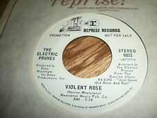 THE ELECTRIC PRUNES RARE PROMO VIOLENT ROSE-SELL .TOP AUDIO.