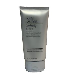 New Estee Lauder Perfectly Clean Multi-Action Foam Cleanser/Purifying Mask 5 OZ