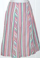 NEW! Norm Thompson Cotton Skirt w/Lining Sz 10  Machine Washable