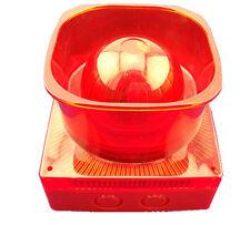 Alarmsirene Alarm Sirene, 8 wählbare Töne, LED Blitzlicht 230V