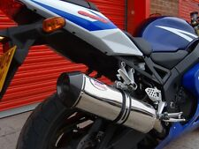 Suzuki GSXR 1000 K9 K10 Stainless Oval Carbon outlet ROAD LEGAL MTC Exhaust