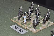 25mm foundry ancient nubian infantry 12 figures (10655)