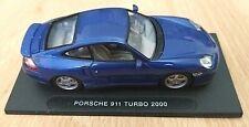 Deagostini - Porsche 911 Turbo 2000 - 1:43 scale diecast - High Speed