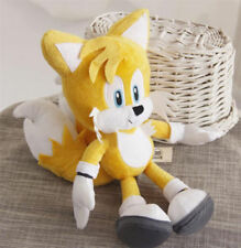 """New GENUINE Sonic The Hedgehog Tails Yellow 8"""" Stuffed Plush Toy Doll"""