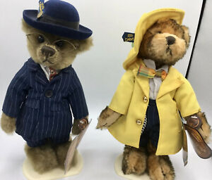 Mookie Brass Button Bears 1900's And 1930's Collectibles New