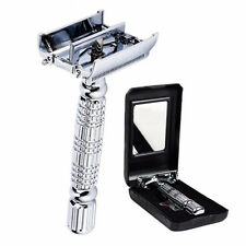 Silver Plated Double Edge Razor Safety razor Fits All Double Edge Razor Blades