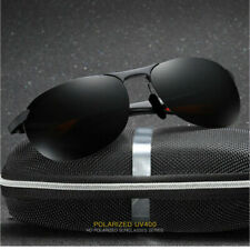 Aluminium HD Herren Polarisiert Sonnenbrille Fahren Brillen UV400 Pilotenbrille