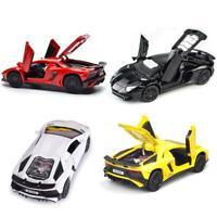 1:32 Lamborghini Aventador LP750 Diecast Model Car Pull Back Toy Collection