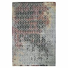 """9'10""""x14' Supple Collection Repetitive Mughal Design Hand Knotted Rug R48763"""