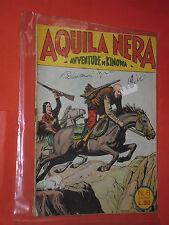 AVVENTURE DI KINOWA ALBO D'ORO DARDO N° 6 DA LIRE 50 DEL 1953-SERIE AQUILA NERA-