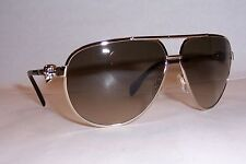 NEW ALEXANDER MCQUEEN SUNGLASSES AMQ 4156/S GOLD/BROWN 3YG-CC AUTHENTIC