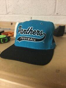 Vintage NOS NWT 1990s Carolina Panthers NFL Pro Line Starter Hat Cap