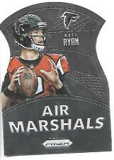 2015 Prizm Matt Ryan die cut Air Marshals card, Atlanta Falcons