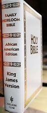 HOLY BIBLE King James Version AFRICAN AMERICAN FAMILY HERITAGE Nelson Vintage